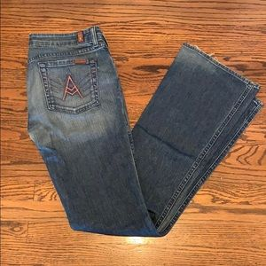 7 For All Mankind A Pocket jeans, size 29